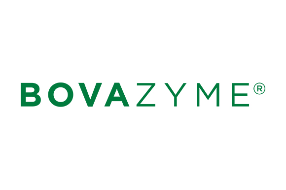 New Simplified Logo of BOVAZYME, feed enzyme additive