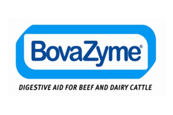 Original Logo of BOVAZYME, feed enzyme additive