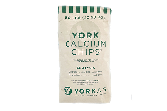 York Calcium Chips Bag