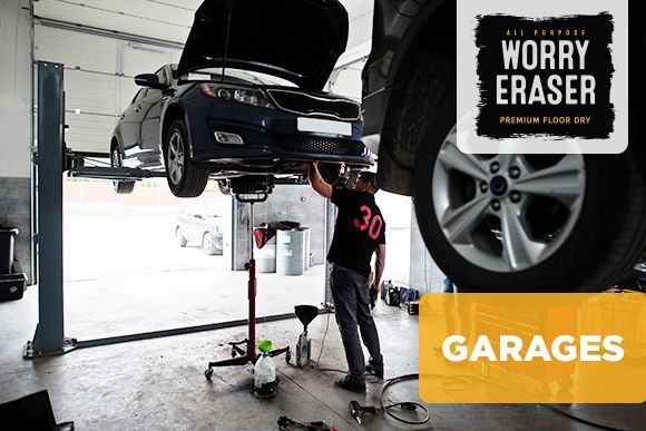 Car Mechanic at a Garage