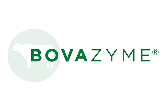 New Logo of BOVAZYME, feed enzyme additive