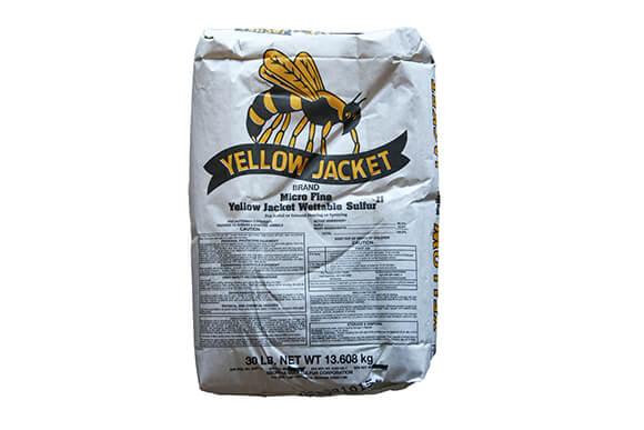 Yellow Jacket Wettable Sulfur Bag